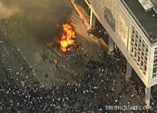 Vancouver Riot of 100,000 People Rages After Stanley Cup Loss – Video