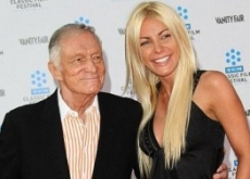Hugh Hefner Bashed by Ex-Fiance Crystal Harris on Howard Stern's Show