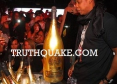 Jay-Z Parties Like Spoiled Royal with $100,000 Champagne Bottle for 'Watch the Throne' While Economy Tanks