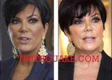 Kris Jenner Sued by Cosmetics Co. for Having Plastic Surgery: Kardashian Jig Is Up