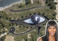 Naomi Campbell Builds Illuminati-Inspired Eye of Horus House