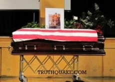 Dead Navy SEAL's Dog Guards His Coffin After Afghanistan Chinook Crash – Video