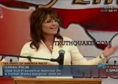 "Sarah Palin: ""Polls"" Are for Strippers; Tea Party Disagrees – Video"