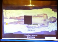 Michael Jackson 2nd Autopsy Photo Shown in Trial