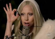 Lady Gaga's Illuminati Signs on Thanksgiving TV Special – Video