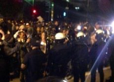 Hundreds of Police Clear Occupy L.A. Camp; Arrest 200 – Video