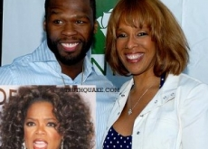 Oprah Furious at Gayle King Over 50 Cent Relationship