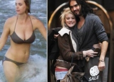 "Katy Perry & Russell Brand Spend Christmas Separately without Wedding Rings after ""Massive Fight"""