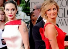 Angelina Jolie Hates Stacy Keibler: Feud Exposed