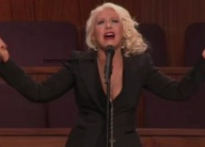 Christina Aguilera, Stevie Wonder Sing at Etta James Funeral – Video
