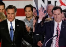 Mitt Romney Beats Rick Santorum in Iowa by 8 Votes; Ron Paul Third