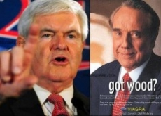 Newt Gingrich Blasted by Bob Dole as Crazy