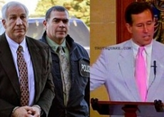 Rick Santorum Supports Accused Penn State Child Molester Jerry Sandusky & Joe Paterno