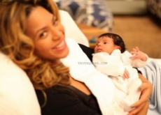Beyonce & Jay-Z Debut Blue Ivy Carter's Ugly Alien-Looking Face – Photos