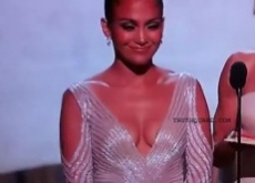 Jennifer Lopez's Oscars Nip Slip Never Happened – Video