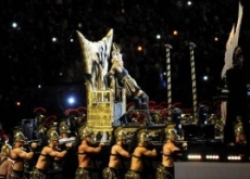 Madonna's Illuminati Alien-God Style Super Bowl Halftime with Nicki Minaj, M.I.A., LMFAO, Cee Lo Green – Video