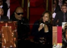 Whitney Houston Funeral Video: Oprah; Alicia Keys; Kevin Costner; Stevie Wonder