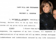 Whitney Houston's Flat Broke; Will Gives Bobbi Kristina All – See Document
