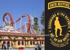 Exclusive: Oath Keepers, Knott's Berry Farm Censor Press; Kick Us Out of Meeting