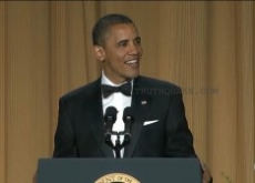 Obama's Full White House Correspondents' Dinner Jokes – Video