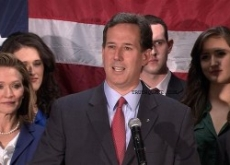 Rick Santorum Drops Out of Republican Race