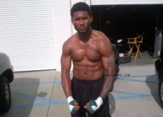 Usher Is Not Dead; Tweets Shirtless Muscle Photos