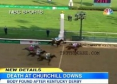 Kentucky Derby Murder Found After Race – Video