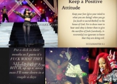 Rihanna Quotes Bible with Illuminati & Satanic Signs & Foul Tweets