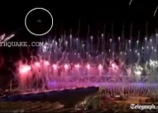 UFO Over Olympics 2012 Opening Ceremony – Video