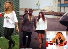 Beyonce Snubs Kim Kardashian at Jay-Z & Kanye West Made In America Festival