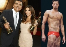 Exclusive: George Lopez & Eva Longoria's Ryan Lochte Joke at Alma Awards