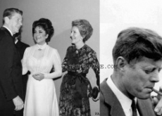 Liz Taylor's Ronald Reagan Affair & JFK Bisexual 3-Way Exposed