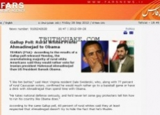 Iran News Fooled by Onion's Joke Poll on Obama