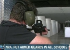 NRA to Arm Schools with Gunmen in Martial Law Fashion – Video – Occupy Watch
