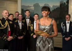 Michelle Obama Surprise Presents Best Picture Oscar: Propaganda Movies?