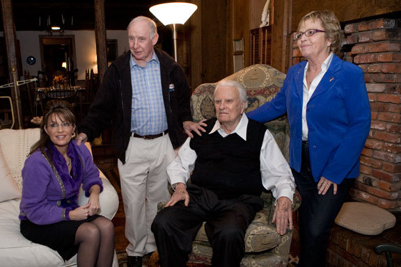 billy graham family. Billy Graham and Mom Sally at