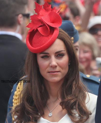 Kate Middleton During Summer Visit to Canada. By Robert Kern, Truthquake.com ...