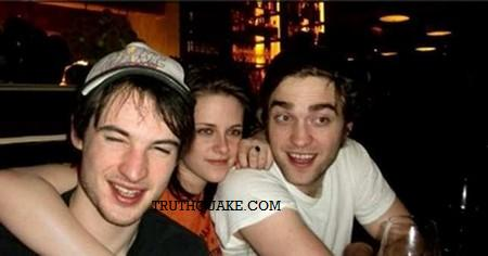 Kristen Stewart  on Robert Pattinson  Kristen Stewart And Alleged Gay Lover Tom Sturridge