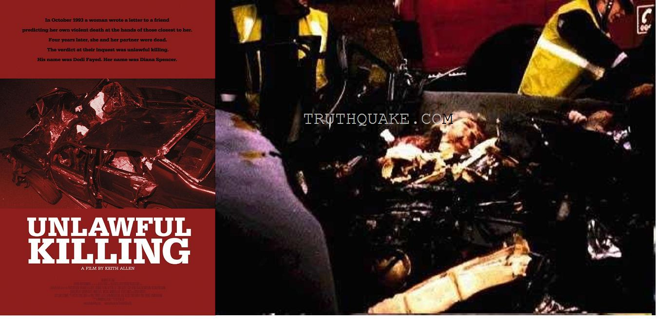princess diana death illuminati murdered dead body photos car crash