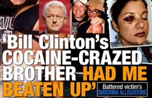 Nadeze Connelly Beaten Up by Order of Bill Clinton's Brother Roger: National Enquirer Photo